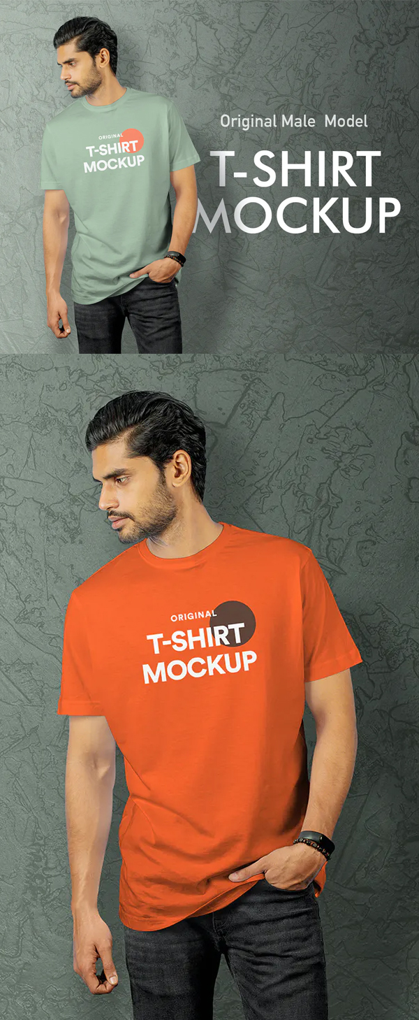 Awesome Best T-Shirt Mockup