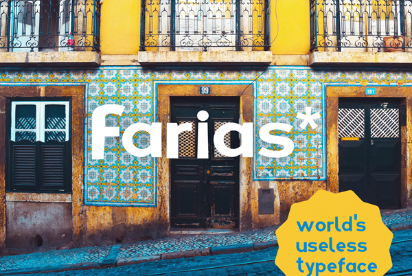 Farias Free Hipster Font