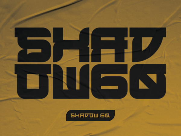 SHADOW 60 Free Hipster Font