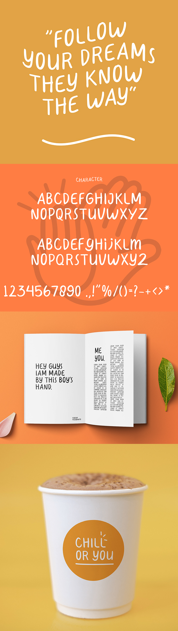 HeyGuys Font Letters