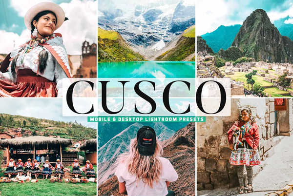 Cusco Pro Lightroom Presets