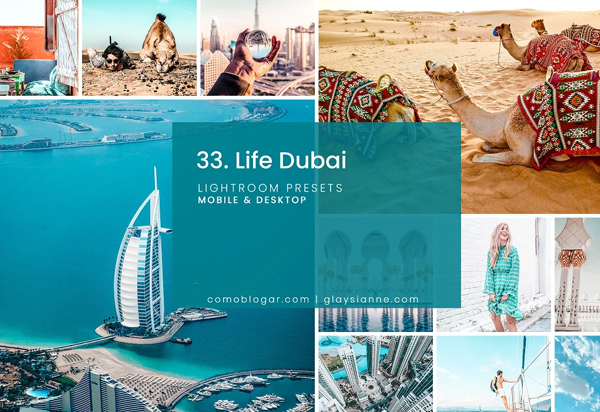 Life Dubai Lightroom Presets