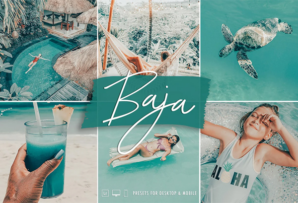 Tropical Lightroom Preset Pack