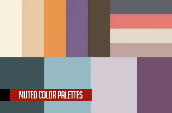 Muted Color Palettes