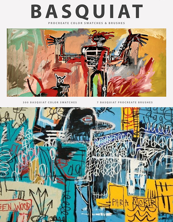 Basquiat's Art Procreate Brushes