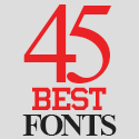 Post thumbnail of 45 Best Fonts For Graphic Designers