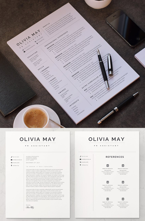Awesome Resume Template / CV