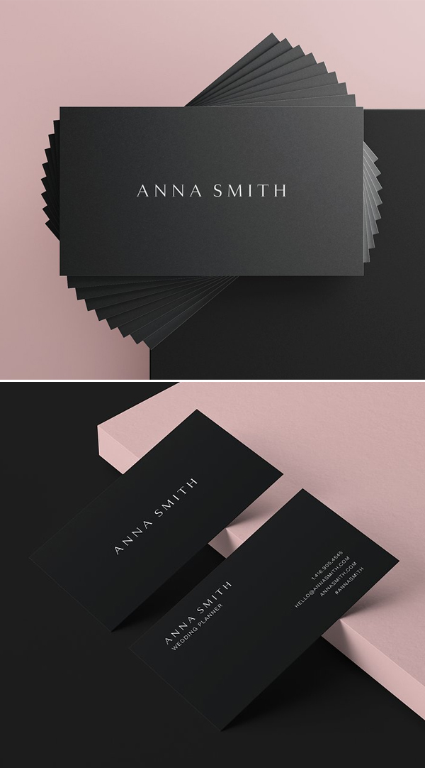 Attractive Minimal Business Card