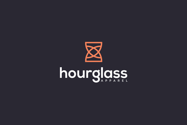 Hourglass Logo Design by Prio Hans