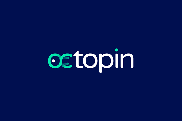 OctoPin Logo Design by Gedas Meskunas