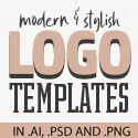 Post thumbnail of Logo Templates: 28 Creative Logo Templates For Inspiration