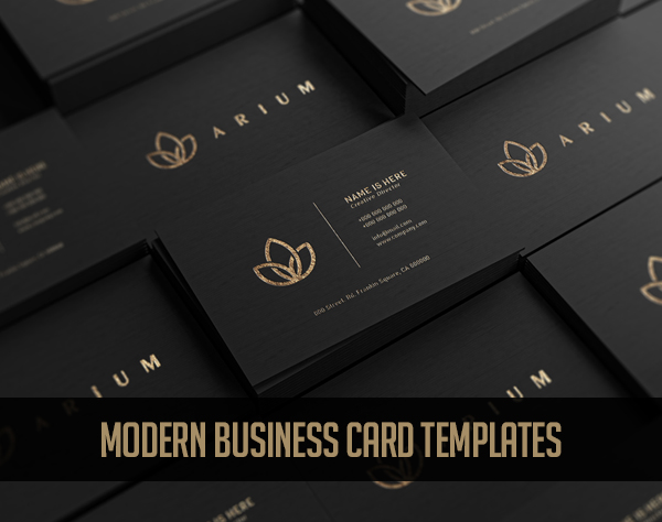 35+ Best Corporate Business Card Templates For Your Brand