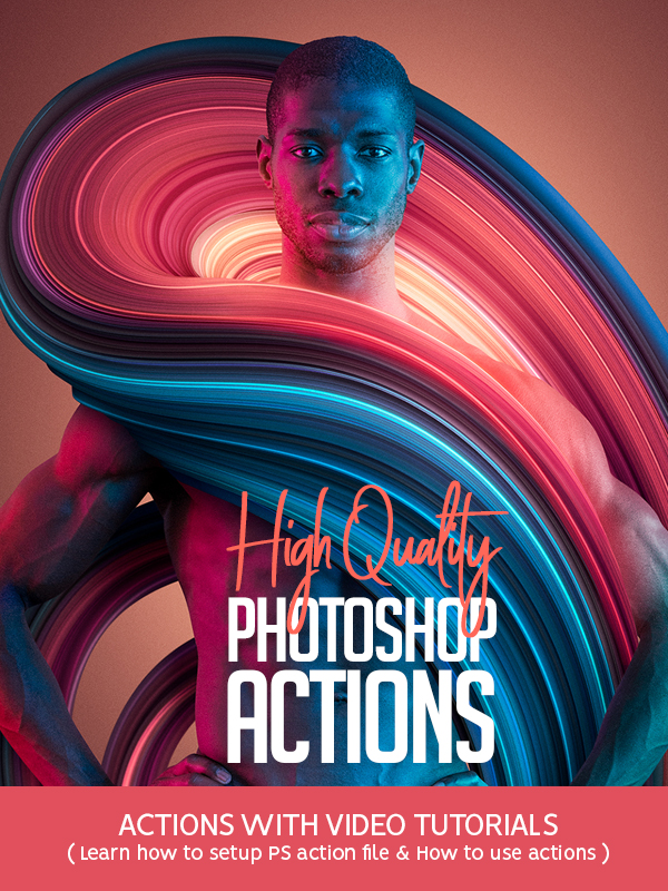 21 High Quality Photoshop Actions for Photographers & Designers