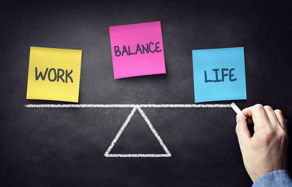 Balance between a full-time job, freelance work, and personal life