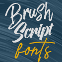Post thumbnail of 30 Fresh Brush and Script Fonts For Designers