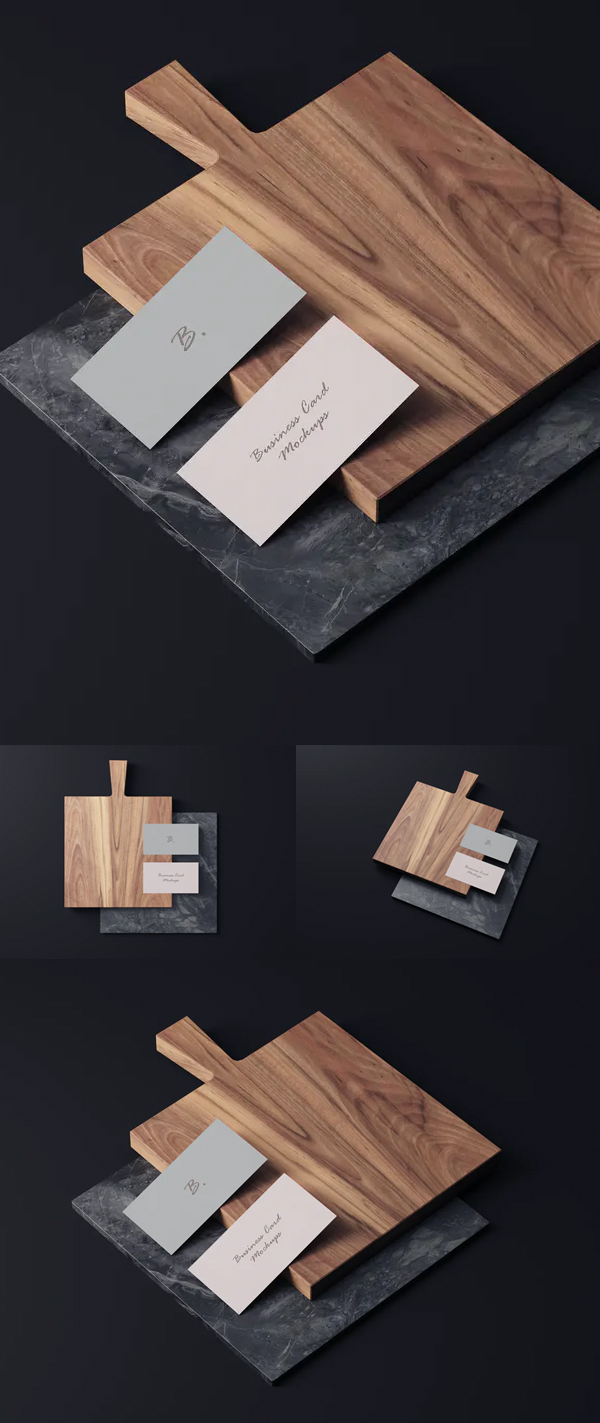 Business Card Photoshop Mockups