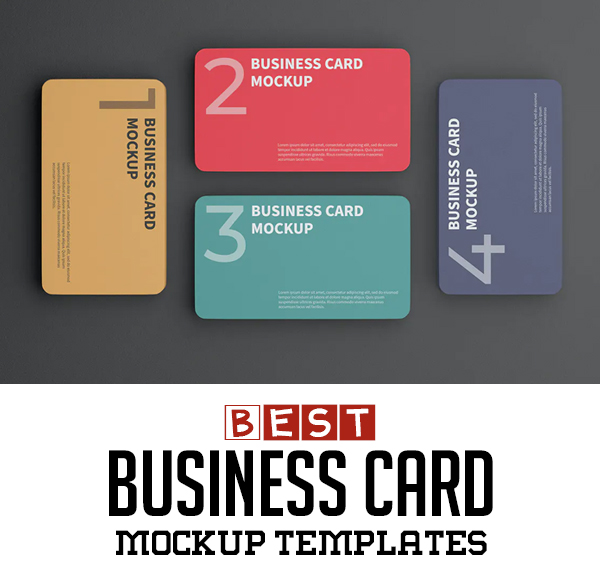 21 Best Business Card Mockups