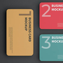 Post Thumbnail of 21 Best Business Card Mockups