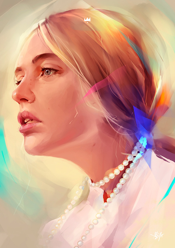 Awe-Inspiring Digital Art and Portrait Illustrations For Inspiration - 37