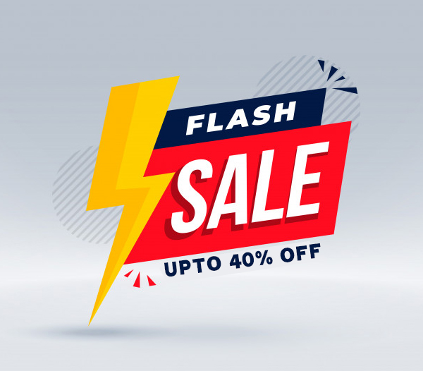 Flash Sale 2021: Best Flash Discounts (Save up to 40%)