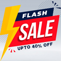 Post thumbnail of Flash Sale 2021: Best Flash Discounts (Save up to 40%)