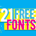 Post thumbnail of 21 Fresh Free Fonts Download