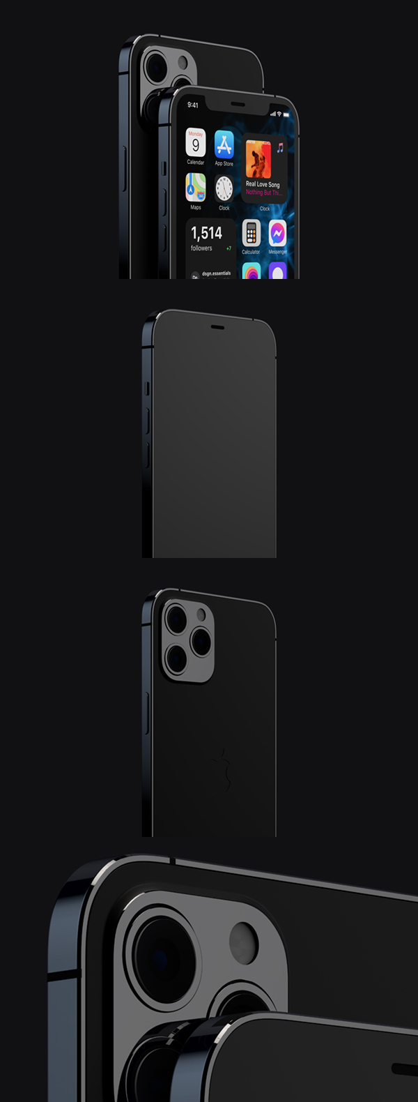 Free iPhone 12 Pro and Max Mockup
