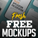 Post Thumbnail of Fresh Free Mockup: 26 Hi-Qty MockUps For Designers