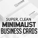 Post thumbnail of 21 Minimal Simple Business Cards (PSD) Templates