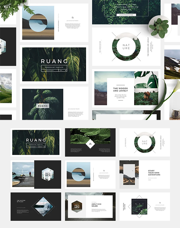 Ruang PowerPoint Template