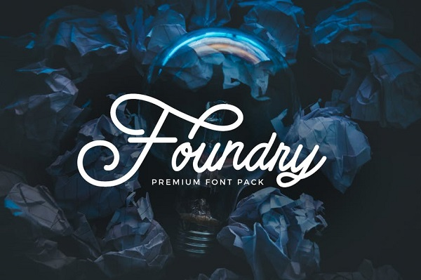 Foundry - font pack Font