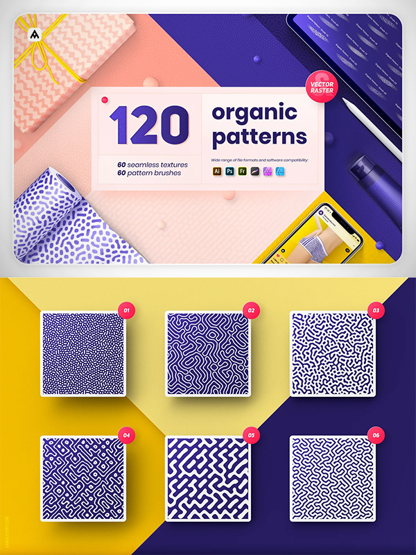Organic Patterns and Brushes