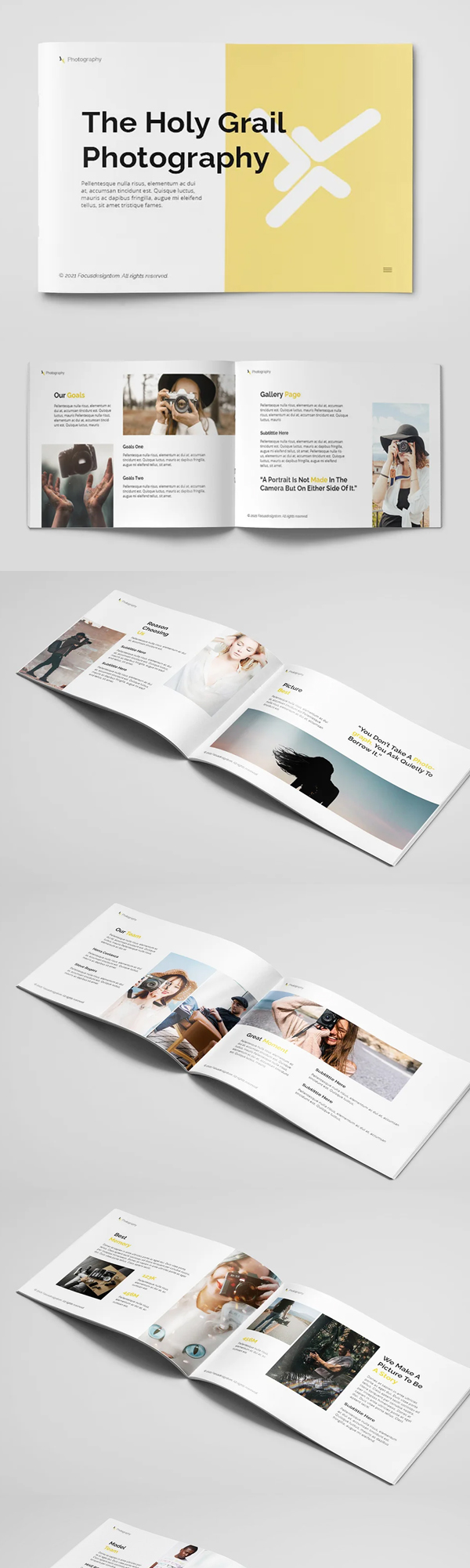 Photography Brochure A5 Template