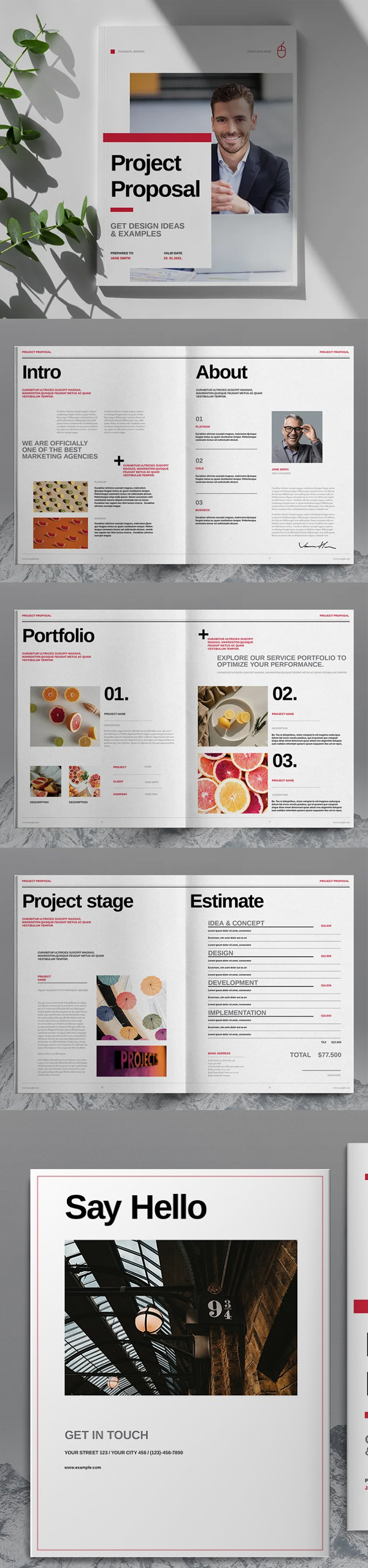Modern Project Proposal Template