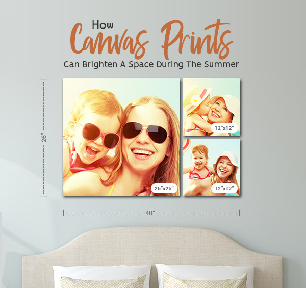 How Canvas Prints Can Brighten A Space During The Summer