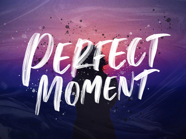 Perfect Moment Handwritten Free Font Free Font