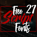 Post thumbnail of 27 Best Free Script Fonts for Designers