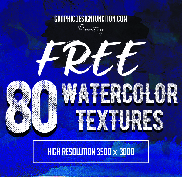 80 Free Watercolor Textures