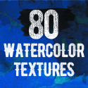Post Thumbnail of 80 Free Watercolor Textures