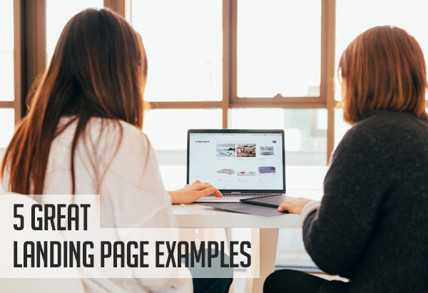 5 Great Landing Page Examples You Can Learn From