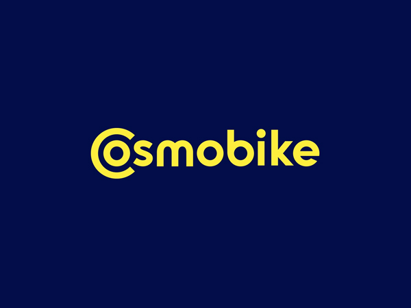 Cosmobike Logo For Brand by Vlad Smolkin Free Font