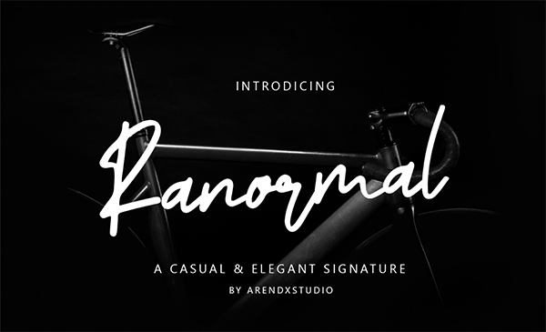Ranormal Free Font
