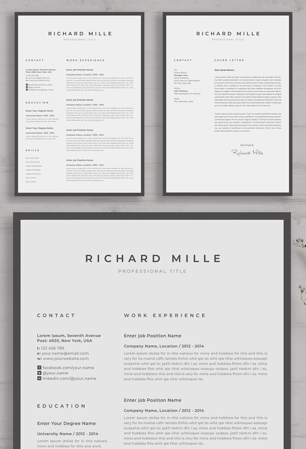 Best Perfect Resume Template