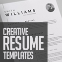 Post Thumbnail of 25 Creative Clean CV / Resume Templates with Cover Letters