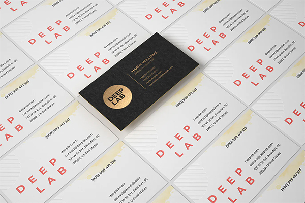 Perfect Best Business Card Mockup