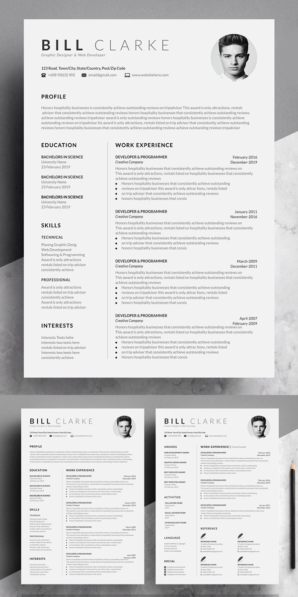 Modern Perfect Resume Template