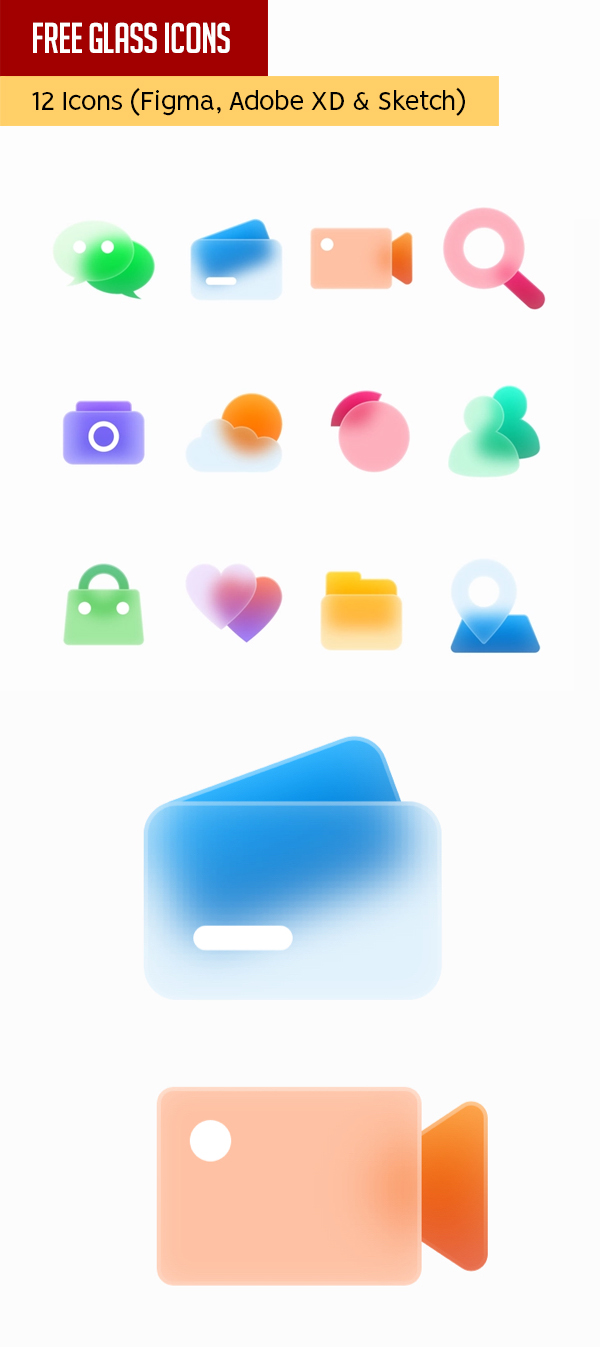 Free Glass Icons