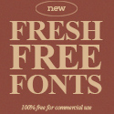 Post thumbnail of Fresh Free Fonts (20 New Fonts For Designers)