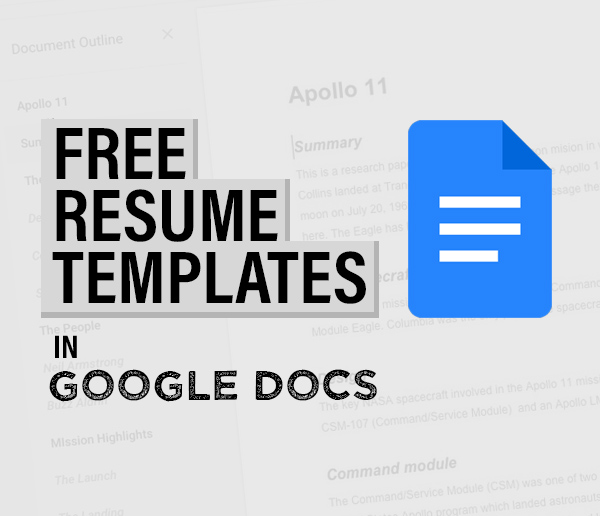 30+ Free Resume Templates in Google Docs That Will Make Your Life Easier