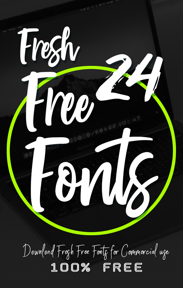 24 Fresh Free Fonts For Graphic Designers